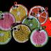 Fruit Pot Holders pattern