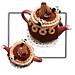 Chocolate Cake Tea Cosy pattern