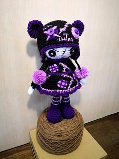 Gothic Spiderweb Lace Vest Crochet pattern by One Stitch Designs ... | 320x240