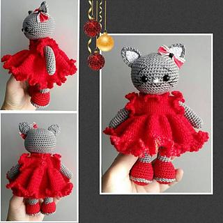 Ravelry: Cat Amigurumi pattern by Clare Heesh | 320x320