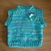 chunky yarn baby sleeveless vest top pattern