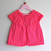 Girl's All-in-One Sleeveless Top pattern