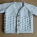 NEVIS Top-down V-neck Baby Cardigan Jacket pattern
