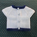 AYRTON All-in-One Sleeveless Baby Top pattern