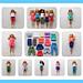 Fashionista Barbie Clothes ~ Separates pattern