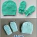 AMITY Baby Hat & Mittens pattern