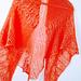 Cantaloupe Pink Shawl pattern