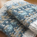 Blå Skimmer / Blue Shimmer Cuffs pattern