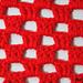 simple filet boxes blanket pattern