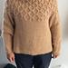 p.12 Smocking Sweater 編みながらスモッキングするセーター pattern