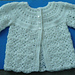 Cute Baby sweater - CR005 pattern