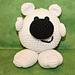 Polar Bear Noggin Pal Amigurumi pattern