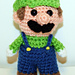 Mini Green Gamer Friend pattern