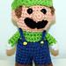 Mini Green Gamer Friend pattern