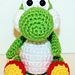 Mini Yoshi Gamer Friend pattern