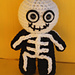 Skeleton Mini Spook Amigurumi pattern