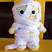 Mummy Mini Spook Amigurumi pattern
