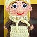 Pilgrim Girl Mini Amigurumi pattern