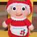 Mrs. Claus Christmas Mini Amigurumi pattern