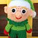 Elf Christmas Mini Amigurumi pattern