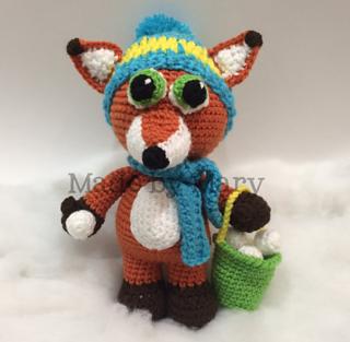 Ravelry: Amigurumi Fox pattern by The Nerdy Knitter | 313x320