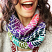 The Great British Baking Cowl: Holiday Hangover pattern