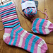 Low Carb Combination Plate Socks pattern