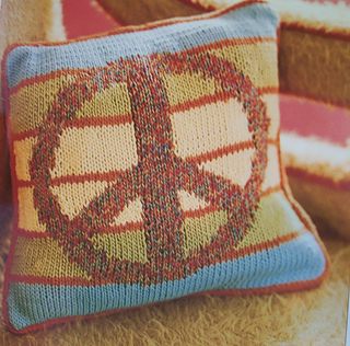 Peace Pillow -front
