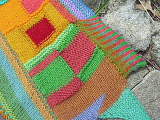 color on color scarf