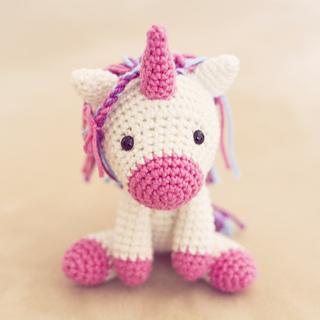 Pepika - Amigurumi Pattern - Peachy Rose the Unicorn   320x320