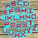 Alphabet Granny Square Letters pattern