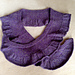The Indigo wrap & furl scarf pattern