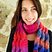 Big Squishy Cabled Scarf pattern