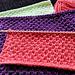 Pearl Brioche Dishcloth #12 pattern