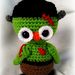 Frankie Owl- Halloween pattern