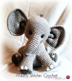 crochet elephant - amigurumi elephant - crochet elephant pattern ... | 320x283