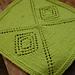 Mitered Diamond Dishcloth pattern
