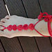 Hearts Barefoot Sandals pattern