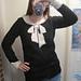 Schiaparelli Bowknot Sweater pattern