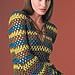 Retro Striped Pullover pattern