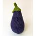 Eggplant pattern