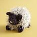 Glittery Sheep pattern