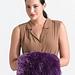 Fur Trimmed Muff #L0681 pattern