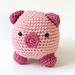 Amigurumi Pig pattern