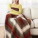 Vintage On The Bias Afghan pattern