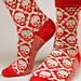 Hot Crossbones Socks pattern