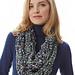 I-Cord Arm Knit Cowl pattern