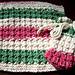 Waffle Stitch Spa Cloth & Soap Sack pattern
