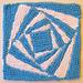 Vortex (Seven) Dishcloth pattern