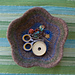 Felted Flower Bowl pattern